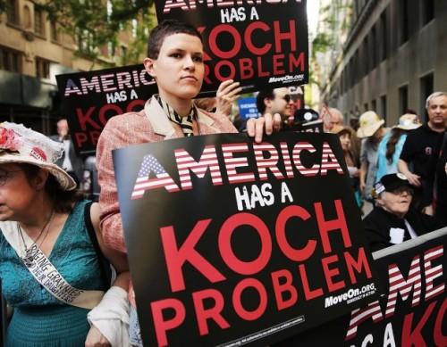 Koch-protest